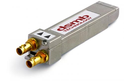 12G-SDI SFP Coaxial Module - Dual Receiver